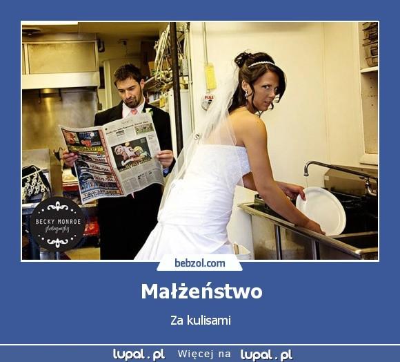 Małżeństwo Zdjęcia Memy, śmieszne Gify, zabawne Demotywatory. I pełne  humoru Zdjęcia i żarty