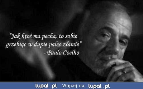 Coelho dobrze mówi