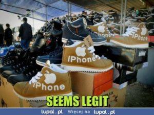 Kupiłem sobie nowiutkie iPhone'y