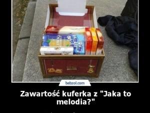 """Zawartość kuferka z """"Jaka to melodia?"""""""