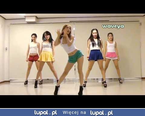 Koreańskie tancerki tańczą GANGNAM STYLE